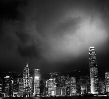 Hong Kong Skyline by Brendan Ó Sé