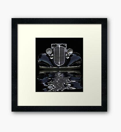 33 Chrysler Flood Framed Print