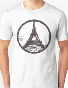 Eiffel Tower Peace Sign T-Shirt