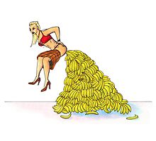 Gwen Stefani - Bananananas Photographic Print