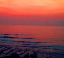 Sunset Surf Session Sticker