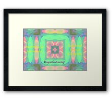 He Heareth the Prayer of the Righteous Framed Print
