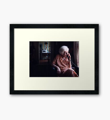 Mary..... Framed Print