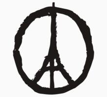 Peace for Paris by Josbel