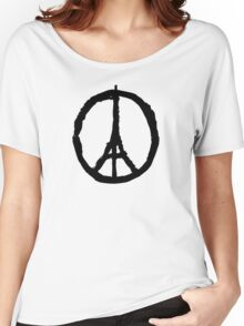 Peace for Paris Women's Relaxed Fit T-Shirt