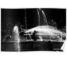 Fountains of Aix-en-Provence Poster