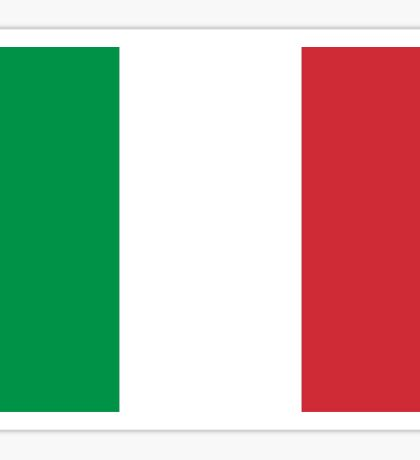 Italy World Cup Flag - Italian T-Shirt Sticker