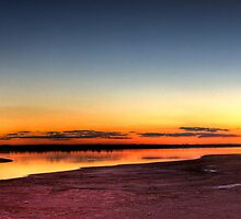Lake Hefner Panoramic by William Rottenburg