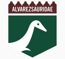 Dinosaur Family Crest: Alverezsauridae Kids Clothes