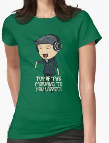 JackSepticEye | Top Of The Morning Womens Fitted T-Shirt