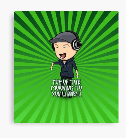 JackSepticEye | Top Of The Morning Canvas Print