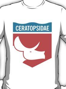 Dinosaur Family Crest: Ceratopsidae T-Shirt