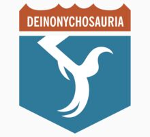 Dinosaur Family Crest: Deinonychosauria Kids Clothes