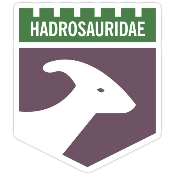 Dinosaur Family Crest: Hadrosauridae by David Orr