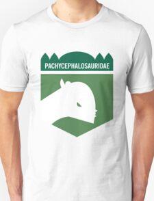 Dinosaur Family Crest: Pachycephalosauridae T-Shirt