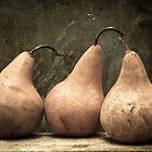 Three Pears by Edward M. Fielding by Edward Fielding