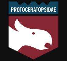 Dinosaur Family Crest: Protoceratopsidae Kids Clothes