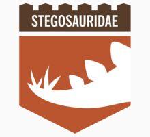Dinosaur Family Crest: Stegosauridae by David Orr