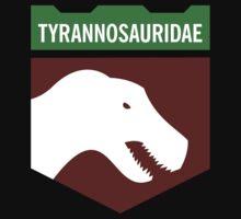 Dinosaur Family Crest: Tyrannosauridae Kids Clothes