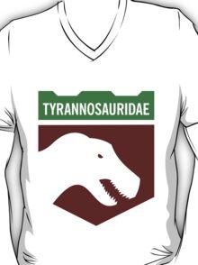 Dinosaur Family Crest: Tyrannosauridae T-Shirt