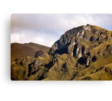 Andes Mountain Peak Canvas Print