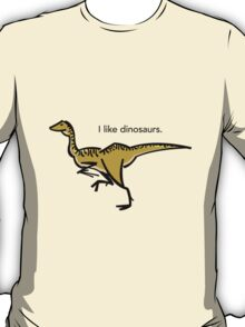 I like dinosaurs: Gallimimus T-Shirt