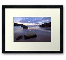 Plemont Bay - Jersey  Framed Print