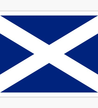 Scottish Independence Flag Scotland T-Shirt Sticker