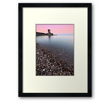 Archirondel at dusk Framed Print