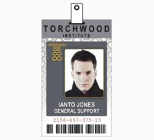 Torchwood Ianto Jones ID Shirt by zorpzorp
