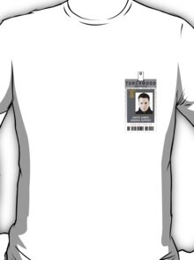 Torchwood Ianto Jones ID Shirt T-Shirt