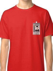 Torchwood Ianto Jones ID Shirt Classic T-Shirt