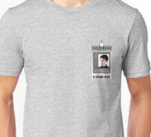 Torchwood Jack Harkness ID Shirt Unisex T-Shirt