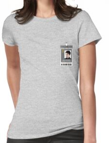 Torchwood Jack Harkness ID Shirt Womens Fitted T-Shirt