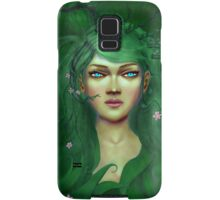 Green Nature Fairy Samsung Galaxy Case/Skin