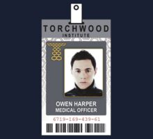 Torchwood Owen Harper ID Shirt by zorpzorp