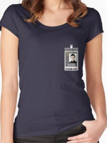 Torchwood Owen Harper ID Shirt Women's Fitted Scoop T-Shirt