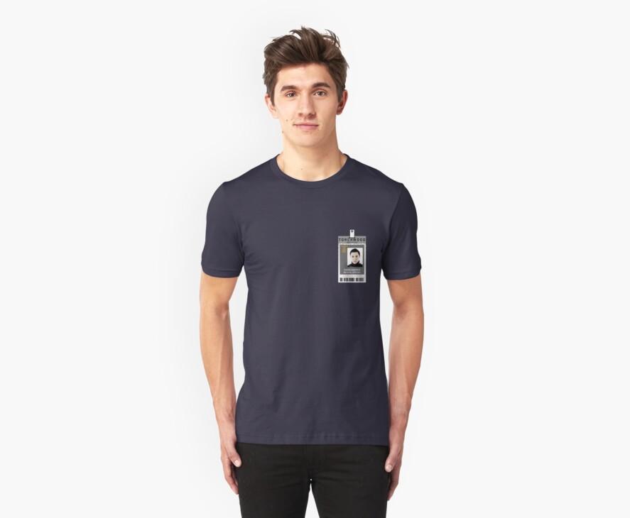Torchwood Owen Harper ID Shirt by zorpzorp