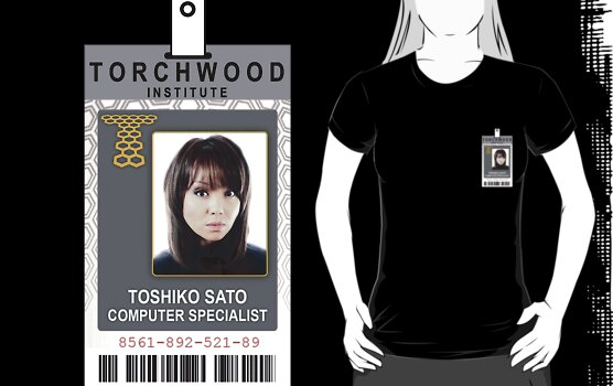 Torchwood Toshiko Sato ID Shirt by zorpzorp