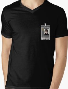 Torchwood Toshiko Sato ID Shirt Mens V-Neck T-Shirt