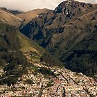 Foothills in the Andes Mountains by Paul Wolf