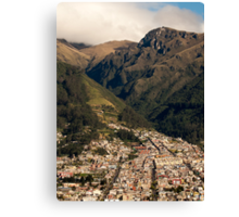 Foothills in the Andes Mountains Canvas Print
