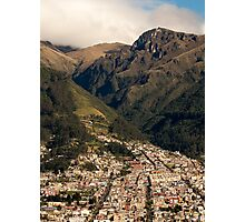 Foothills in the Andes Mountains Photographic Print