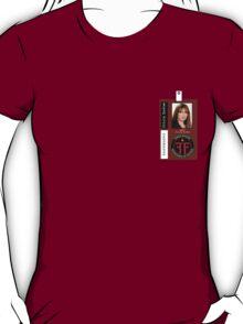 Fringe Parallel Universe Olivia Dunham ID Badge Shirt T-Shirt
