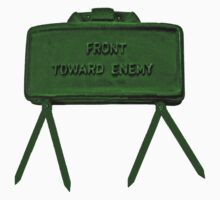 """Front Toward Enemy"" - a Claymore T-shirt by Buckwhite"