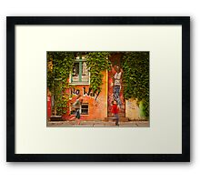 No Way Framed Print
