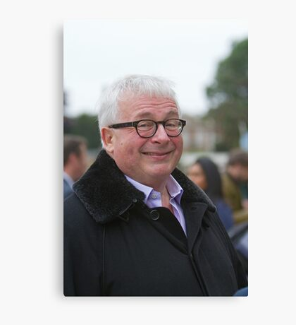 Christopher Biggins at the RHS Chelsea Flower show 2012 Canvas Print