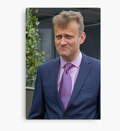 Hugh Dennis at the RHS Chelsea flower show 2012 Canvas Print