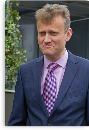 Hugh Dennis at the RHS Chelsea flower show 2012 by Keith Larby