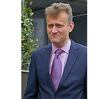 Hugh Dennis at the RHS Chelsea flower show 2012 Photographic Print